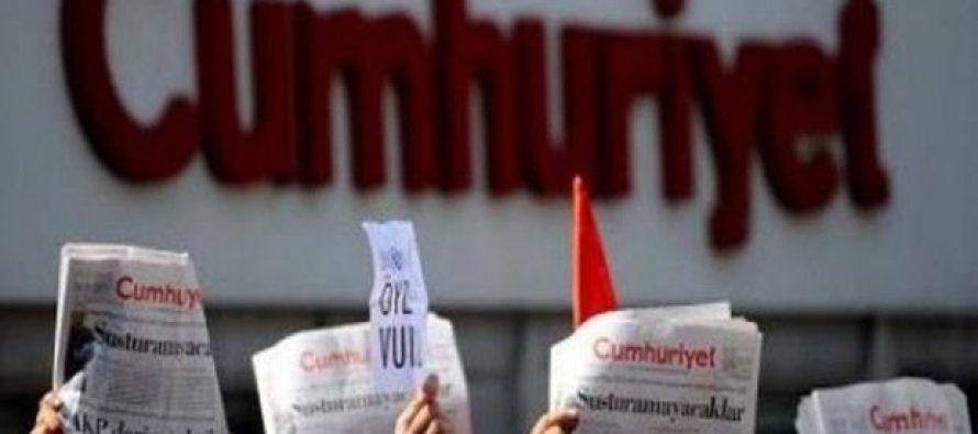 დაპატიმრებული 150 თურქი ჟურნალისტის დასაცავად სტამბულში მიტინგები იწყება