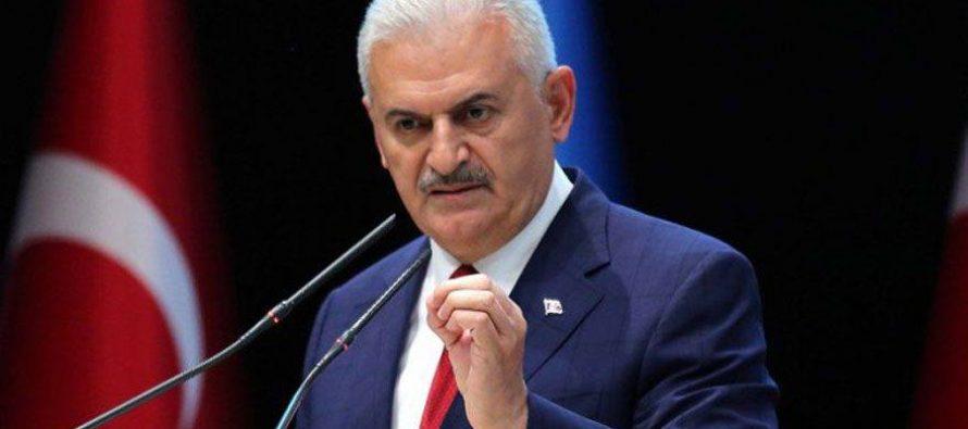 თურქეთის პრემიერი ერაყისა და სირიის ქურთებს დაემუქრა