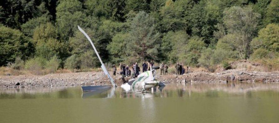 ბორჯომის ხეობაში წყლიდან ამოყვანილი ვერტმფრენი თბილისში ექსპერტიზაზე გადმოაქვთ