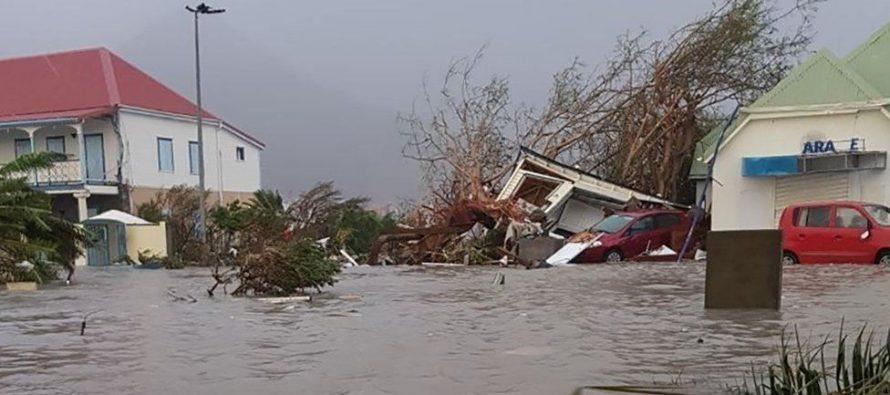 ქარიშხალმა მთლიანად გაანადგურა კუნძული ბარბუდა