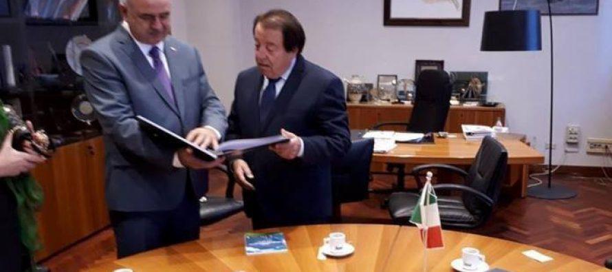 """დიმიტრი მედოევი: სამხრეთ ოსეთი ღიაა თანამშრომლობისთვის და მოხარული იქნება იტალიელი ბიზნესმენების რესპუბლიკაში ხილვით"""""""
