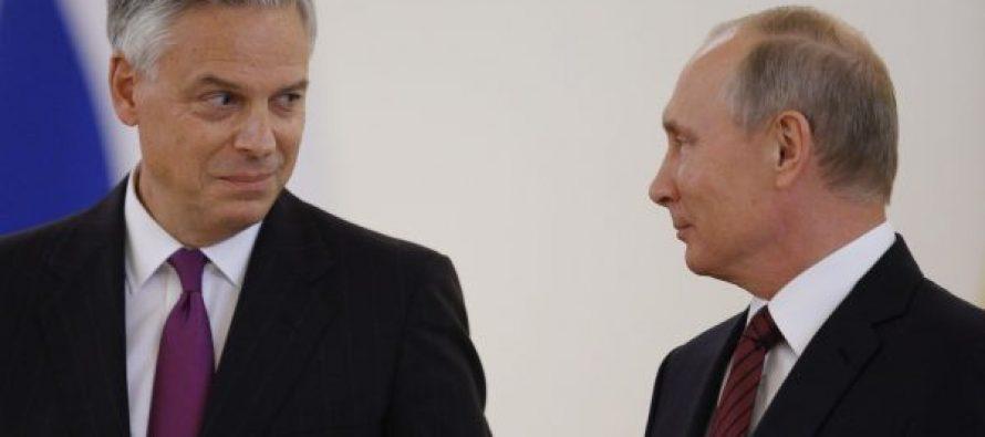 აშშ-ს ახალი ელჩი რუსეთში და პირველი მესიჯი