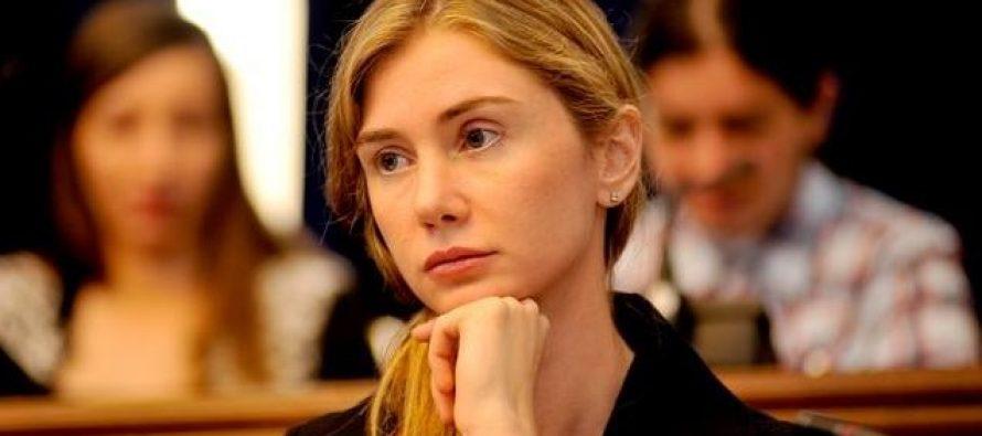 ბოკუჩავა ვოლსკის: ვისურვებდი, რომ კობახიძე მჯდარიყო თქვენს ადგილზე იმიტომ, რომ მისი გადაწყვეტილებით მფრინავი ქალი არ შემოუშვეს სხდომაზე