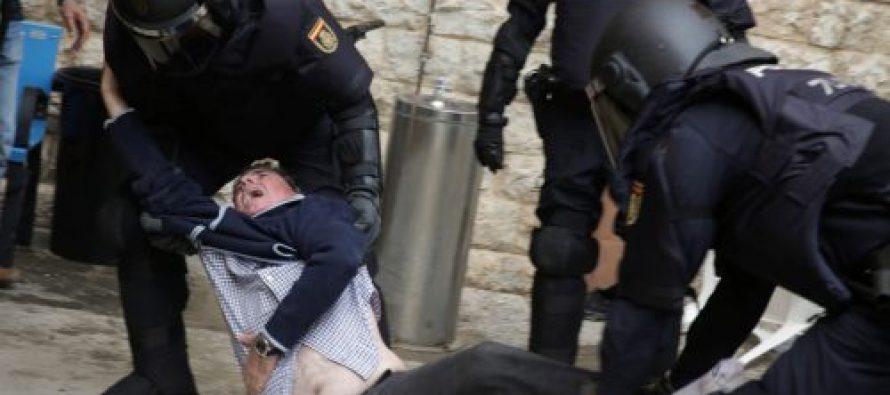 კატალონიაში პოლიციასთან დაპირისპირების დროს 761 ადამიანი დაშავდა