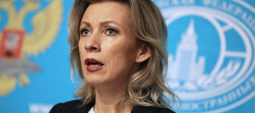 მარია ზახაროვა: რუსეთი შავ ზღვაში ნატოს სამხედრო ძალების გაფართოებით შეშფოთებულია