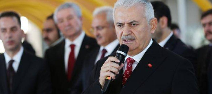 პრემიერი ილდირიმი: თურქეთს ტერორისტებს არ ჩავაბარებთ