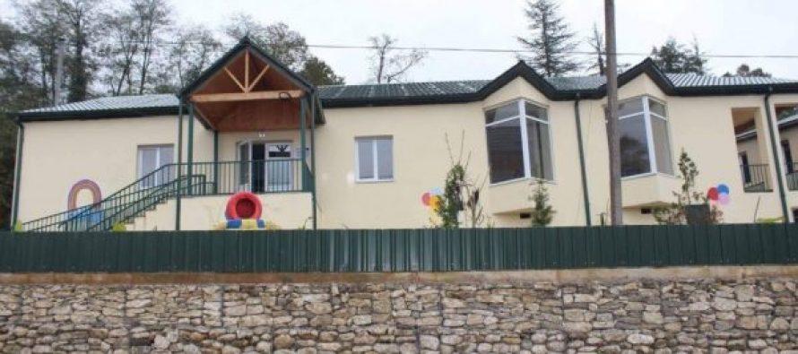 წალენჯიხის მუნიციპალიტეტში კიდევ ერთი საბავშვო ბაღი აშენდა