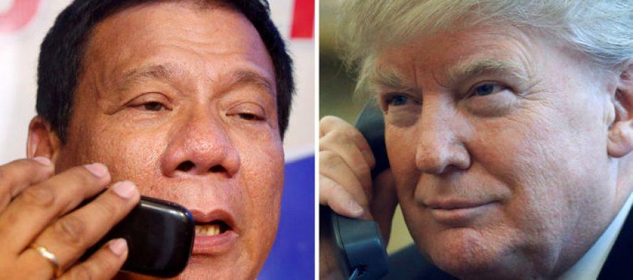 ფილიპინების პრეზიდენტმა დონალდ ტრამპის თხოვნით იმღერა (ვიდეო)