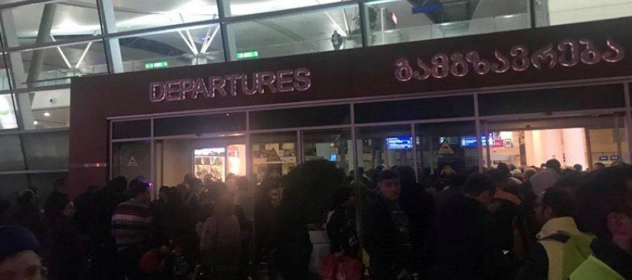 აეროპორტში ევაკუაცია ცრუ შეტყობინების გამო გამოცხადდა
