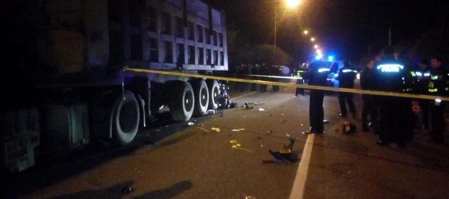 ზუგდიდი-თბილისის მაგისტრალზე კიდევ ერთი ავტოავარია მსხვერპლით დასრულდა