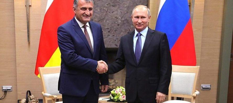 ანატოლი ბიბილოვი რუსეთის პრეზიდენტს ვლადიმერ პუტინს შეხვდა