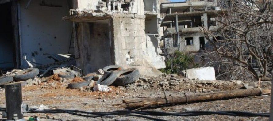 სირიის სამთავრობო ავიაციამ ქალაქი ელ-ატარიბი დაბომბა