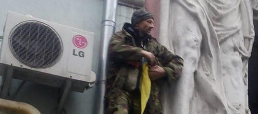 (video)მიხეილ სააკაშვილის ერთ-ერთმა მხარდამჭერმა თავის დაწვა სცადა