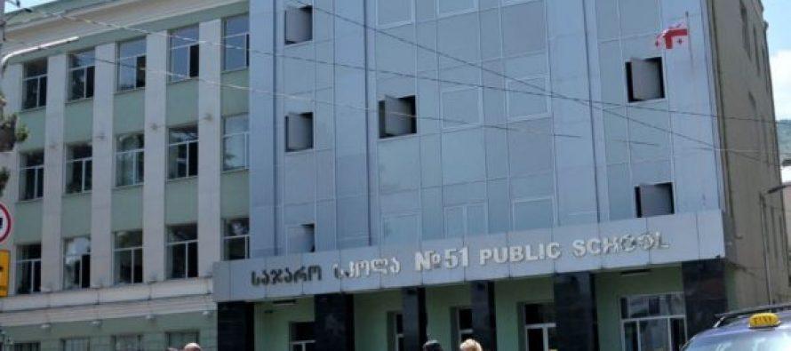 თბილისში, 51-ე საჯარო სკოლის სარდაფში გაჩენილი ხანძარი ლიკვიდირებულია