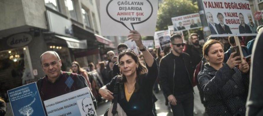 CPJ: მსოფლიოში ყველაზე მეტი დაპატიმრებული ჟურნალისტი თურქეთშია