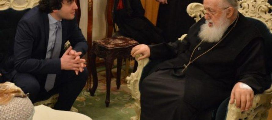 ირაკლი კობახიძე ილია II-ს აღსაყდრებიდან 40 წელს ულოცავს