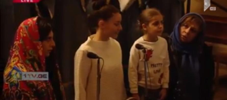 """(Video)""""ალილო"""" თამრიკო ჭოხონელიძის, მისი ქალიშვილისა და შვილიშვილის შესრულებით"""