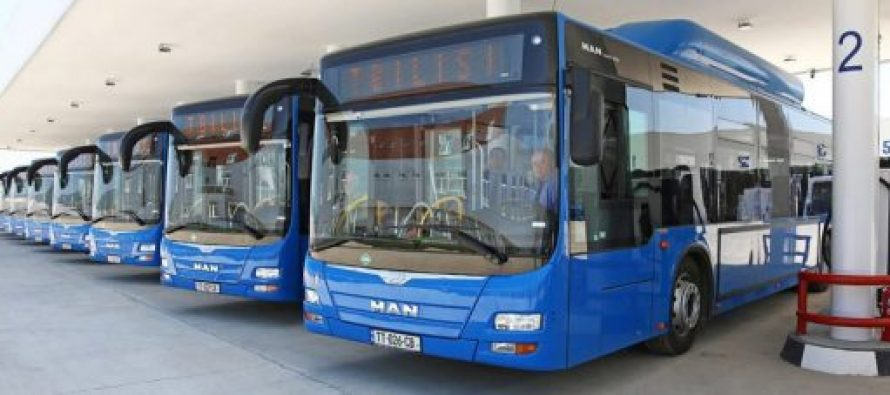 თბილისის ხაზებს თვის ბოლომდე 25 ავტობუსი დაემატება