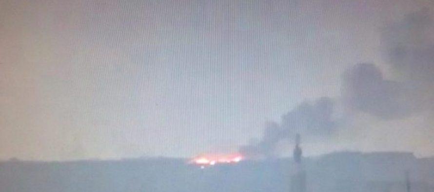 სირიაში ასადის არმიის უდიდესი საწყობი ააფეთქეს (ვიდეო)