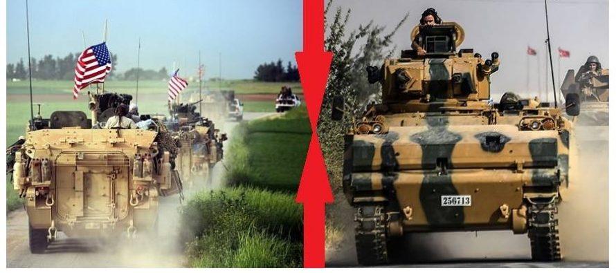 სირიაში აშშ-სა და თურქეთის დაპირისპირების საფრთხე გაჩნდა