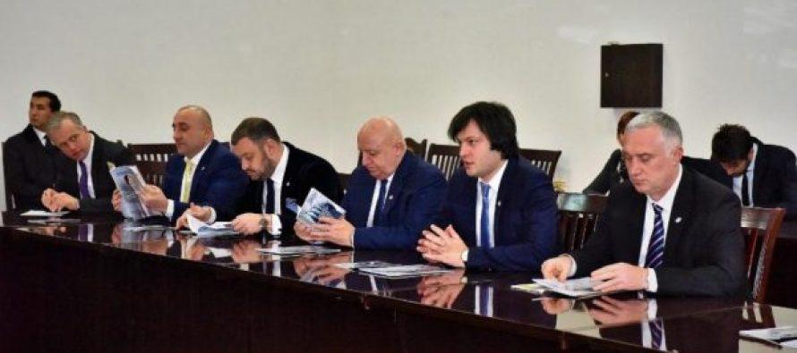 ირაკლი კობახიძე უზბეკეთის რესპუბლიკის ტურიზმის განვითარების სახელმწიფო კომიტეტის თავმჯდომარე აზიზ აბდუხაკიმოვს შეხვდა