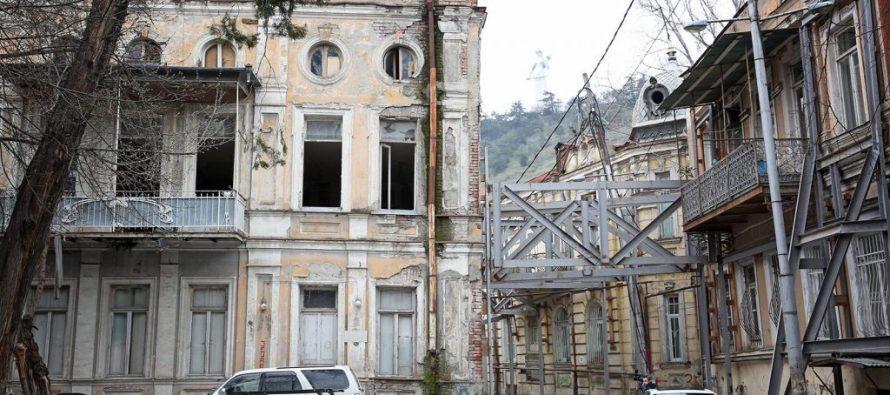 ლადო გუდიაშვილის მოედნისა და მიმდებარე ტერიტორიაზე ისტორიული შენობების რეაბილიტაცია ორ კვირაში დაიწყება