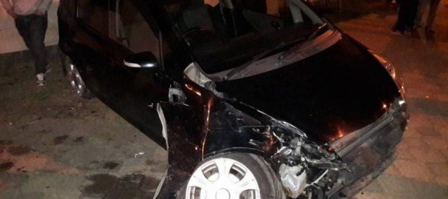 სენაკში ავტოავარია მოხდა
