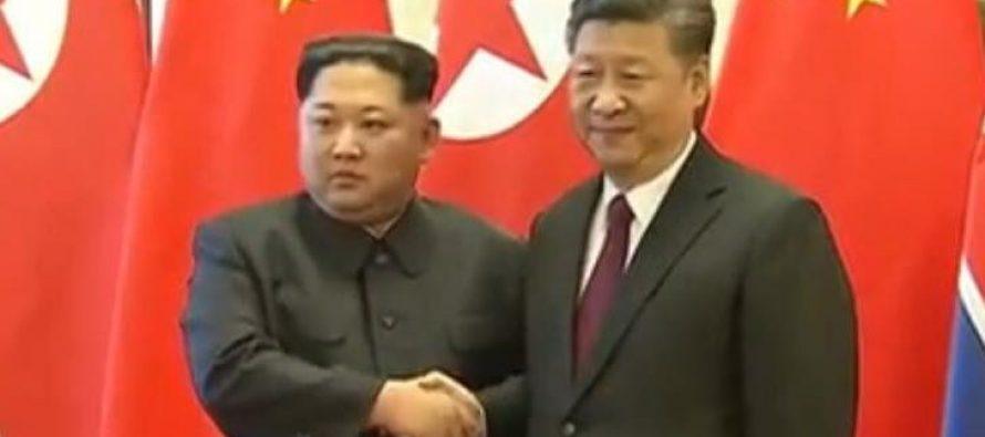 დადასტურდა, რომ კიმ ჩენ ინი ოფიციალური ვიზიტით ჩინეთში იყო (ვიდეო)