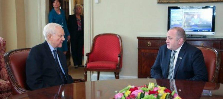 რუსული ოკუპაცია და ტატუნაშვილის მკვლელობა – პრეზიდენტის შეხვედრები აშშ-ში