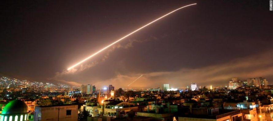აშშ-მ, ბრიტანეთმა და საფრანგეთმა სირიას დაარტყეს, რუსებს არ შეხებიან