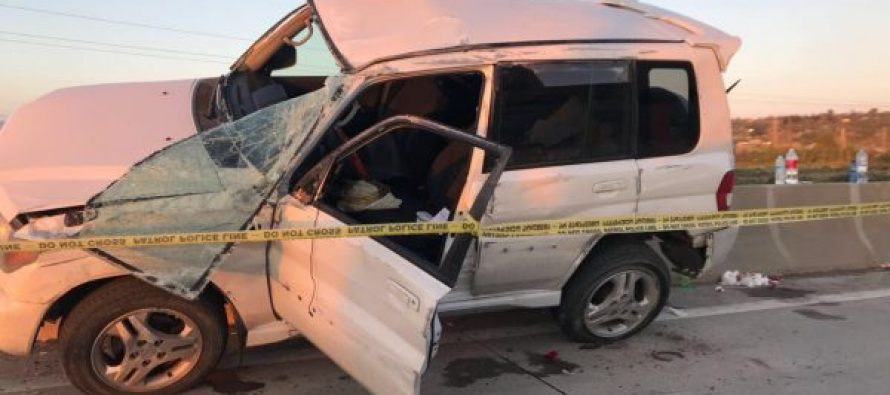 ავტოავარიის შედეგად ორი ადამიანი დაშავდა