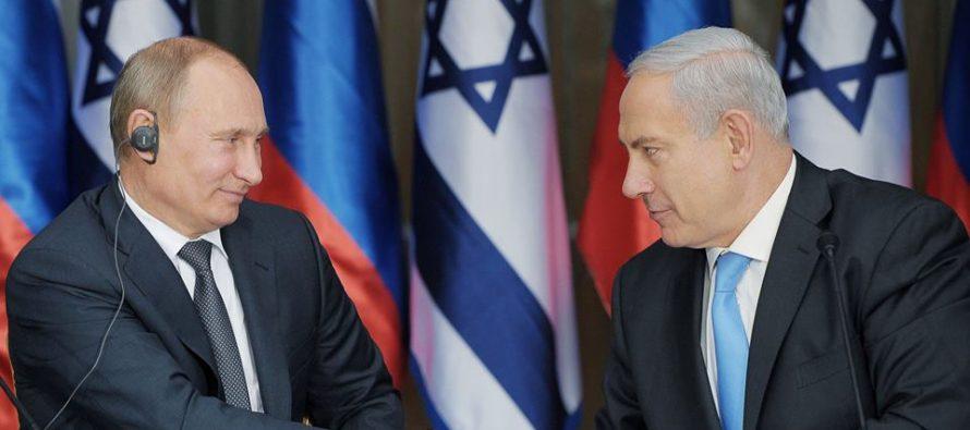 ვლადიმერ პუტინი ისრაელის პრემიერ-მინისტრს ტელეფონით ესაუბრა