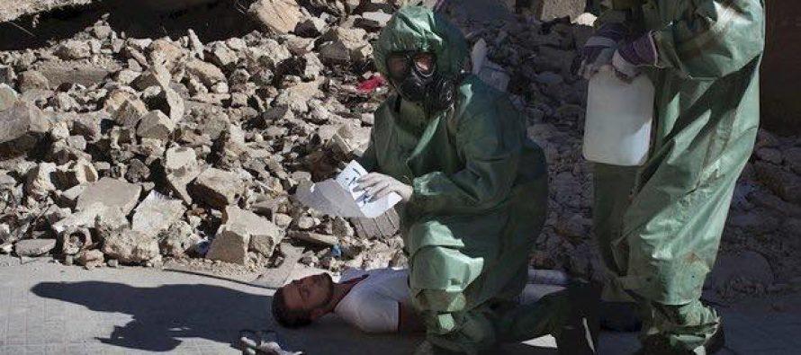 საფრანგეთმა სირიის ქიმიურ იარაღზე ანგარიში გამოაქვეყნა