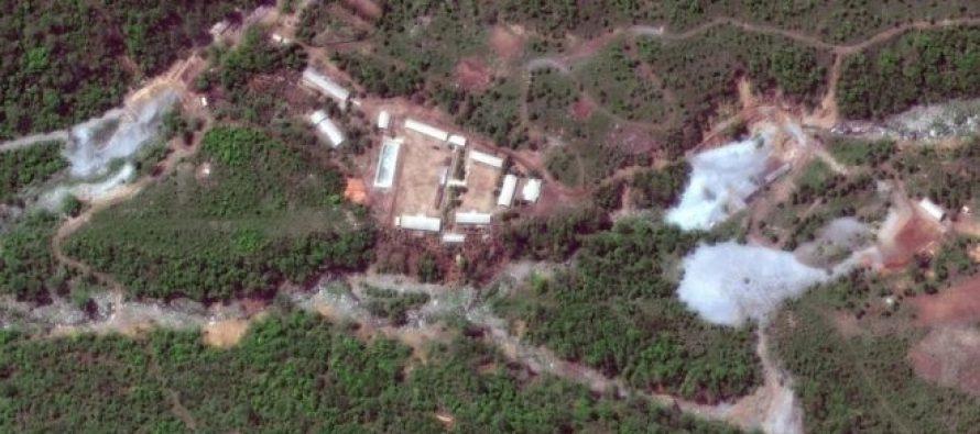 ჩრდილოეთ კორეამ პუნგერის ატომური პოლიგონის დემონტაჟი გააკეთა