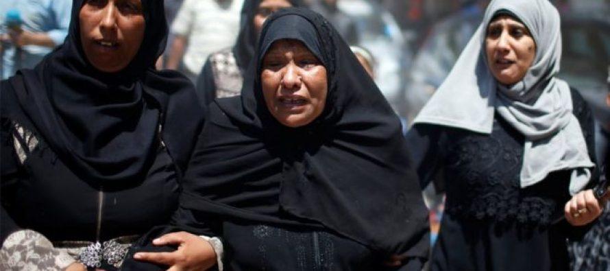 """""""წლების მანძილზე ყველაზე სისხლიანი დღე"""": ღაზის სექტორში ისრაელის საზღვართან მოკლული პალესტინელები დაასაფლავეს"""