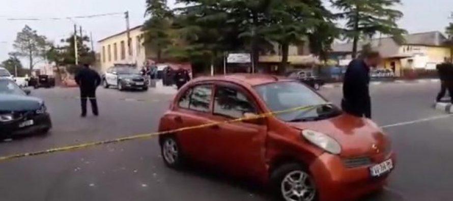 ავტოავარია სენაკში (ვიდეო)