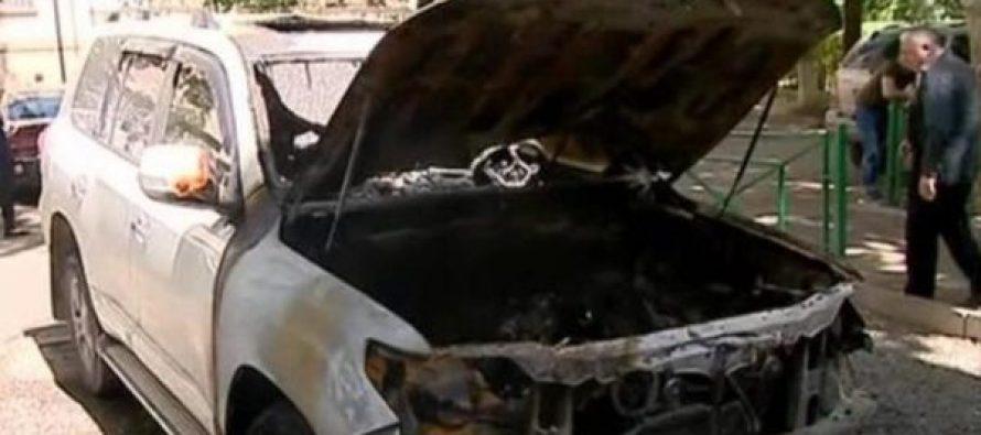 დღეს გამთენიისას თბილისში ბიზნესმენ ზაზა ბაირამოვის მანქანა ააფეთქეს