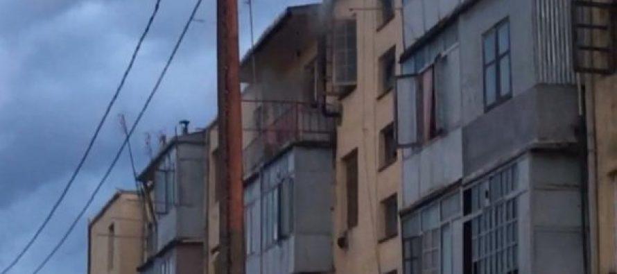 ოთხსართულიანი კორპუსიდან მოსახლეობის ევაკუაცია მიმდინარეობს – ხანძარი ზუგდიდის რაიონში