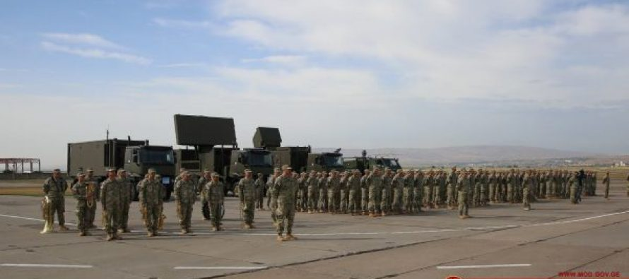სამხედრო საჰაერო თავდაცვის დღე ალექსეევკას სამხედრო ბაზაზე აღინიშნა