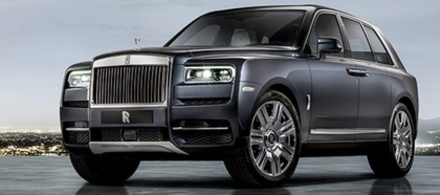 Rolls-Royce-მა პირველი ჯიპი გამოუშვა