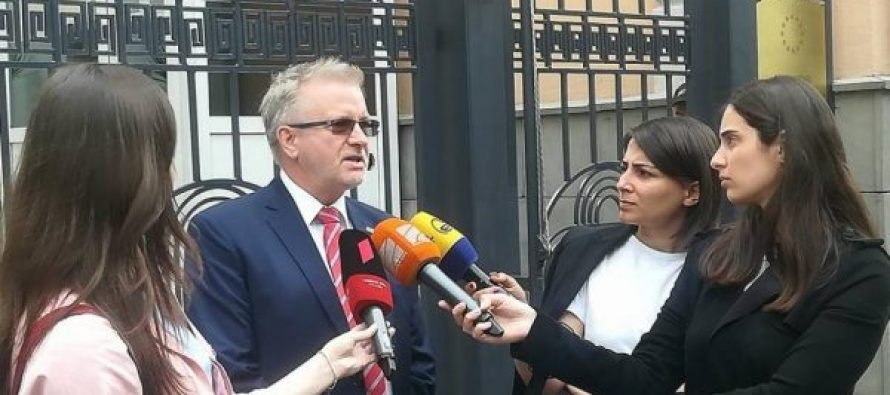 ევროპარლამენტარი : არა მხოლოდ სტრასბურგში უნდა ჩაიტანოთ ოკუპირებულ ტერიტორიებზე არსებული დარღვევები, არამედ გახსნათ სამართლებრივი საქმეები