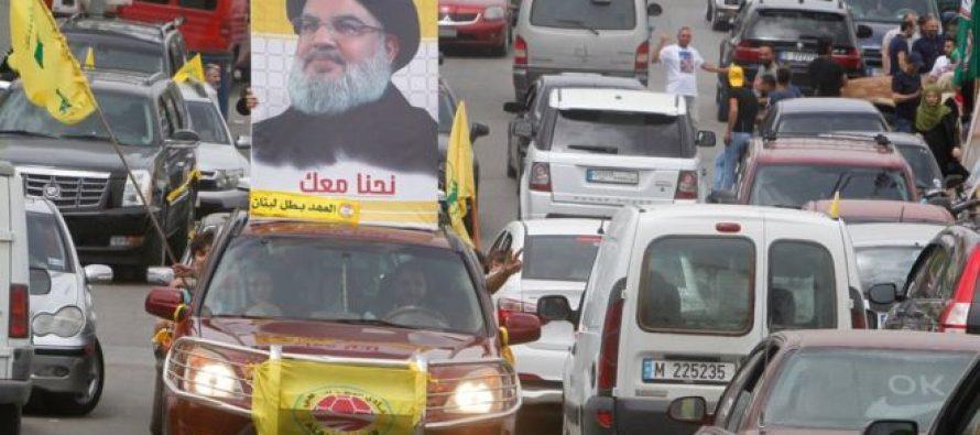 """""""ჰესბოლა"""" ლიბანში გამარჯვებას ზეიმობს"""