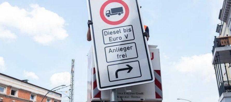 გერმანაიში დიზელის მანქანების აკრძალვა  დაიწყეს
