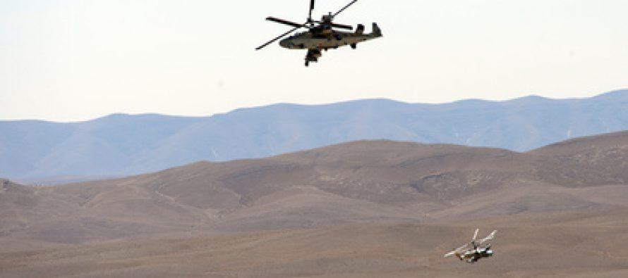 სირიაში რუსული სამხედრო ვეტმფრენი Ка-52 ჩამოვარდა