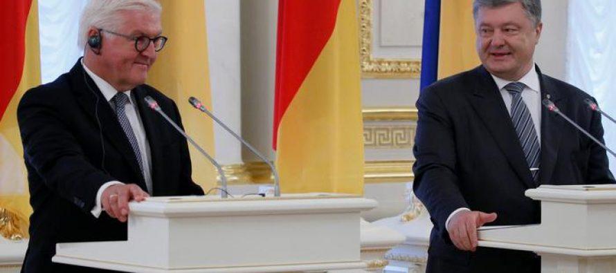 გერმანიის პრეზიდენტმა უკრაინაში მტკივნეული რეფორმების აუცილებლობაზე განაცხადა