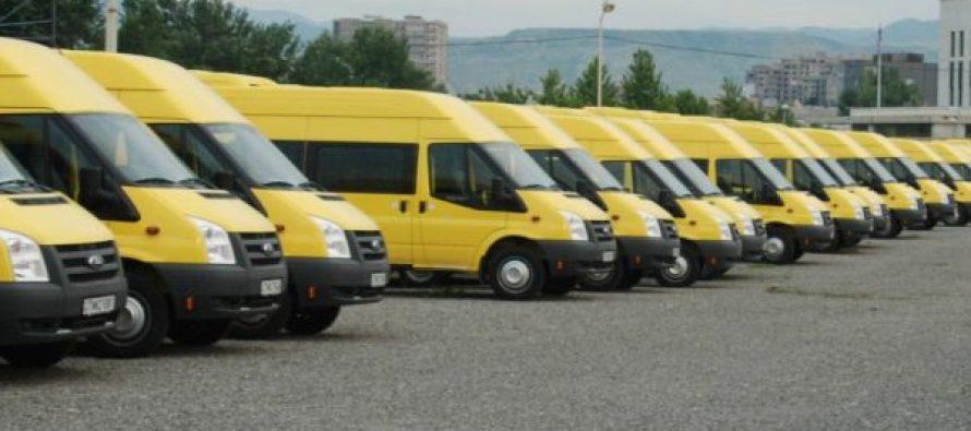 თბილისში მოძრავი მიკროავტობუსის მძღოლები ერთჯერად დახმარებას მიიღებენ