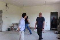 წალენჯიხიში საბავშო ბაღების მშენებლობა სრულდება