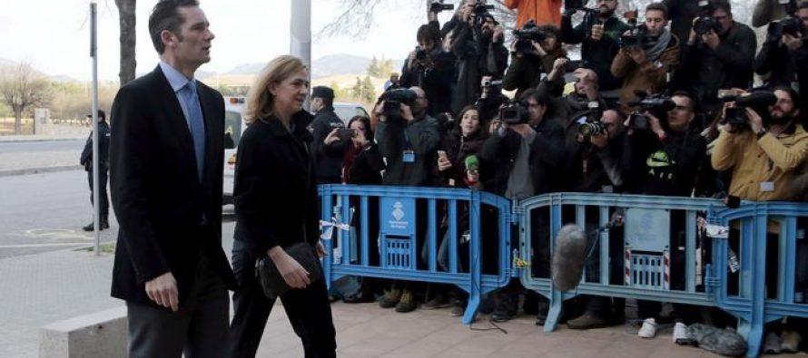 ესპანეთის მეფის სიძე ციხეში გამოცხადდა