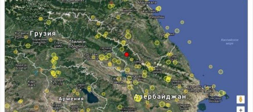 საქართველოში 5.7 მაგნიტუდის მიწისძვრა მოხდა