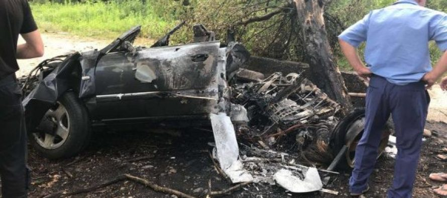 აფხაზეთში ავტოავარიის შედეგად 3 ადამიანი დაიღუპა